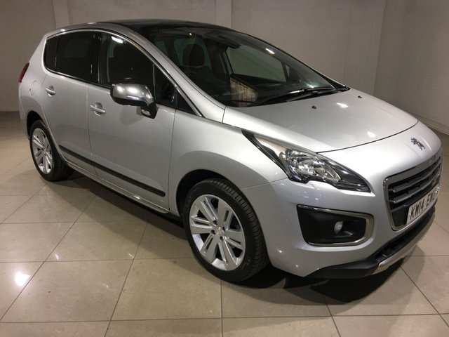 View our 2014 14 PEUGEOT 3008 1.6 HDI ALLURE 5d 115 BHP