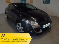 USED 2009 59 RENAULT MEGANE 1.6 DYNAMIQUE VVT 2d 110 BHP WORLD SERIES