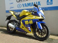 USED 2014 64 YAMAHA YZF-R125 WD-40 GRAPHICS, ** LOW MILES **