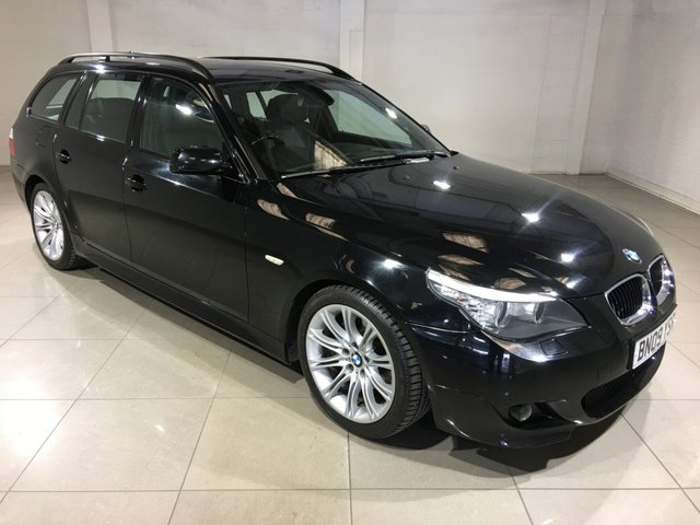 View our 2009 09 BMW 5 SERIES 2.0 520D M SPORT BUSINESS EDITION TOURING 5d AUTO 175 BHP