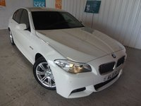 USED 2011 11 BMW 5 SERIES 2.0 520D M SPORT 4d 181 BHP