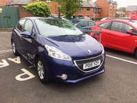 USED 2015 15 PEUGEOT 208 1.2 ACTIVE 5d AUTO 82 BHP £0 ROAD TAX(95G/KM)!! AUTOMATIC!!..EXCELLENT FUEL ECONOMY!..LOW CO2 EMISSIONS!!..PEUGEOT WARRANTY!!...ONLY 8588 MILES!!