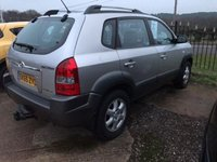 USED 2005 55 HYUNDAI TUCSON 2.0 CDX CRTD 4WD 5d 111 BHP FULL LEATHER, 5 SERVICE STAMPS