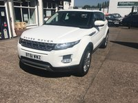 USED 2012 61 LAND ROVER RANGE ROVER EVOQUE 2.2 SD4 PRESTIGE 5d AUTO 190 BHP Sat Nav, Power Tailgate Surround Camera, Leather Interior, 1 Owner, Heated Seats.