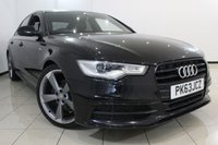 USED 2013 63 AUDI A6 2.0 TDI S LINE BLACK EDITION 4DR 175 BHP AUDI SERVICE HISTORY + HEATED LEATHER SEATS + 0% FINANCE AVAILABLE T&C'S APPLY + CLIMATE CONTROL + SAT NAVIGATION + BLUETOOTH + CRUISE CONTROL + MULTI FUNCTION WHEEL