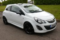 USED 2014 14 VAUXHALL CORSA 1.2 LIMITED EDITION