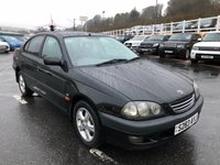 USED 1998 S TOYOTA AVENSIS 1.8 CDX Saloon 109 BHP Leather, sunroof, clean & tidy quality Toyota
