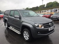 USED 2014 14 VOLKSWAGEN AMAROK 2.0 DC TDI TRENDLINE 4MOTION 1d 139 BHP Sat Nav, rear hard back, load liner, side bars plus more. Local owner price plus VAT