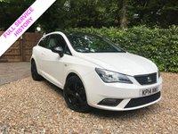 2014 SEAT IBIZA 1.4 TOCA 3d 85 BHP £5989.00