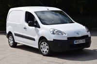 USED 2013 63 PEUGEOT PARTNER 1.6 HDI PROFESSIONAL L1 850 5d 90 BHP SWB AIR CON DIESEL MANUAL VAN ONE OWNER FINANCE AVAILABLE