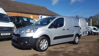 2013 PEUGEOT PARTNER 625SE WITH 3 SEATS & FULL STAMPED HISTORY. NO VAT TO PAY £5795.00