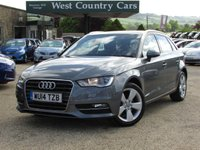 USED 2014 14 AUDI A3 2.0 TDI SPORT 5d 148 BHP £250 Per Month For 36 Months With £1,750 Deposit*