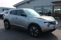 USED 2014 14 NISSAN JUKE 1.5 DCI N-TEC 5d 109 BHP NO DEPOSIT FINANCE AVAILABLE.