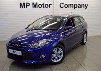 2014 FORD FOCUS 1.6 TITANIUM NAVIGATOR 5d AUTO 124 BHP £8995.00