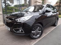 USED 2014 14 HYUNDAI IX35 2.0 CRDI SE NAV 5dr 134 BHP 1 OWNER HYUNDIA WARRANTY TO APRIL 2019 SAT/NAV BLUETOOTH PHONE CRUISE CONTROL *** FINANCE & PART EXCHANGE WELCOME ***