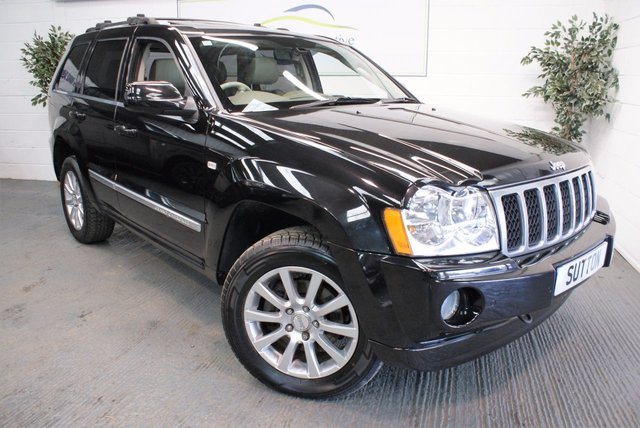 2007 07 JEEP GRAND CHEROKEE 3.0 V6 CRD OVERLAND 5d AUTO 215 BHP