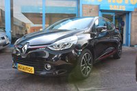 USED 2014 63 RENAULT CLIO 1.2 DYNAMIQUE MEDIANAV 5dr  Lovely Renault Clio with Gloss Red Trim Inside & Out!