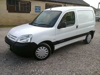 USED 2007 07 CITROEN BERLINGO 1.4 PETROL LX 600 KG FACELIFT 75 BHP