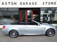 USED 2008 58 BMW M3 4.0 M3 2d 414 BHP CONVERTIBLE ** F/S/H ** LOW MILES ** ** FULL SERVICE HISTORY **