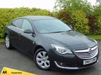 USED 2014 VAUXHALL INSIGNIA 2.0 SRI NAV CDTI ECOFLEX S/S 5d * 128 POINT AA INSPECTED * SATELLITE NAVIGATION * TOUCH SCREEN DIGITAL INTERFACE *