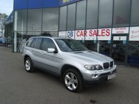 USED 2005 05 BMW X5 3.0 D SPORT 5d AUTO 215 BHP £0 DEPOSIT, LOW RATE FINANCE ANYONE, DRIVE AWAY TODAY!!