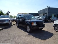 USED 2009 09 LAND ROVER DISCOVERY 2.7 3 TDV6 XS 5d AUTO 188 BHP 1 OWNER 7 SERVICE STAMPSJUST HAS SERVICE AT 63622 SERVICED AT 11940M 25288M 33290M 40283M 47834M 53387M 63622M FACTORY EXTRAS METALIC PAINT £557 HEATED FRONT SEATS £293 FRONT PARK DISTANCE CONTROL £259 SANTORINI MEATLIC BLACK