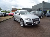 USED 2011 11 AUDI Q5 2.0 TDI QUATTRO S LINE 5d 141 BHP 7 SERVICE STAMPS HIGH SPEC SERVICED AT 20339M 29971M 38442M  49612M 69722M 91400M 112072M SPEC INCLUDES TECHNOLOGY PACK £2040 MEATLIC PAINT £615 HEATED FRONT SEATS £280 BLACK MILANO LEATHER S LINE SEATS MATT BRUSHED ALLIMINUM PACK TOTAL XTRAS COST £2935