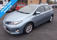 USED 2013 13 TOYOTA AURIS 1.4 ICON D4-D £20.00 PER YEAR ROAD TAX