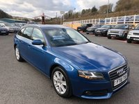 USED 2012 61 AUDI A4 2.0 AVANT TDI SE DPF 5d AUTO 141 BHP Bluetooth, Concert Hi-Fi, cruise & more. Supplied by ourselves with FSH