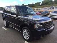 USED 2011 61 LAND ROVER RANGE ROVER VOGUE 4.4 TDV8 VOGUE 2012 Model Diesel Auto 2012 model with only 12,700 miles from new with FSH