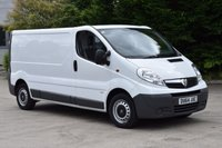 USED 2014 64 VAUXHALL VIVARO 2.0 2900 CDTI 5d 115 BHP EURO 5 LWB DIESEL MANUAL PANEL VAN ONE OWNER F/SH EURO 5 ENGINE