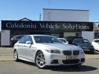 2011 BMW 5 SERIES 2.0 520D M SPORT 4d 181 BHP £10888.00