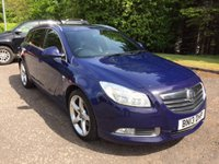 USED 2013 13 VAUXHALL INSIGNIA 2.0 SRI NAV VX-LINE CDTI 5d AUTO 157 BHP 6 MONTHS PART AND LABOUR WARRANTY