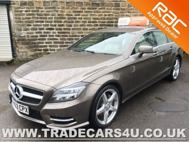 2013 63 MERCEDES-BENZ CLS 350 CDI ESTATE PLUS SPORT AMG SHOOTING BRAKE