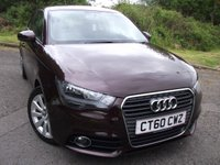 USED 2010 60 AUDI A1 1.6 TDI SPORT 3d 103 BHP  ** DIESEL , LOVELY COLOUR , £20 ROAD TAX, OVER 70 MPG **