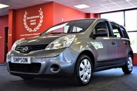 USED 2011 61 NISSAN NOTE 1.5 dCi Visia 5dr
