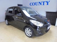 USED 2012 62 HYUNDAI I10 1.2 CLASSIC 5d 85 BHP * CHEAP TO RUN * LONG MOT *