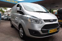USED 2015 65 FORD TRANSIT CUSTOM 2.2 290 LIMITED 155 BHP SUPERB! VERY HIGH SPEC, 155 BHP, 6 SPEED, BEST RATE FINANCE OR PCP AVAILABLE