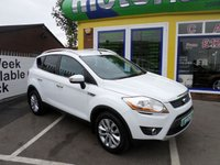 USED 2009 59 FORD KUGA 2.0 TITANIUM TDCI AWD 5d 134 BHP 1 OWNER... FULL SERVICE HISTORY... JUST ARRIVED