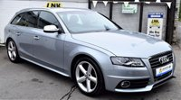 USED 2009 59 AUDI A4 2.0 AVANT TDI S LINE SPECIAL EDITION 5d 141 BHP * * BUY NOW PAY IN 6 MONTHS * *