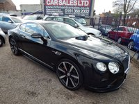 USED 2015 15 BENTLEY CONTINENTAL 4.0 GT V8 S 2d AUTO 520 BHP FULL SERVICE HISTORY WITH BENTLEY, STUNNING