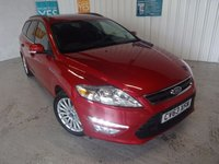 USED 2014 63 FORD MONDEO 2.0 ZETEC BUSINESS EDITION TDCI 5d 161 BHP