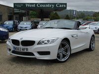USED 2013 63 BMW Z4 2.0 Z4 SDRIVE20I M SPORT ROADSTER 2d 181 BHP £200 Per Month For 36 Months With £4,790.56 Deposit*