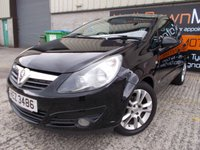 USED 2007 VAUXHALL CORSA 1.4 SXI A/C 16V 3d AUTO 90 BHP Low Mileage, Small Automatic, Excellent Condition