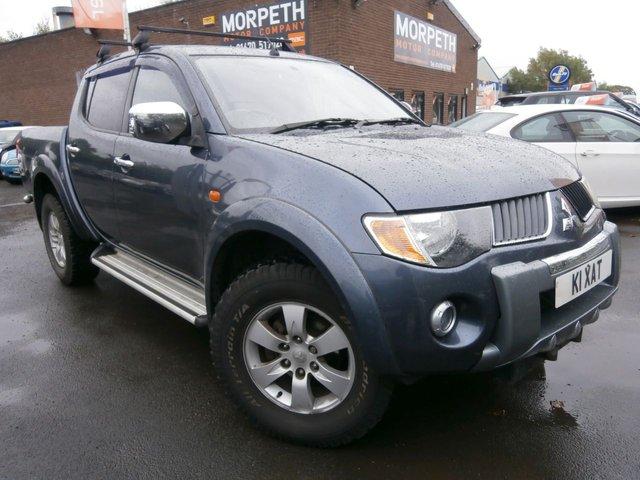 2009 58 MITSUBISHI L200 2.5 4WD WARRIOR DCB 1d 134 BHP