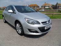 USED 2012 62 VAUXHALL ASTRA 1.6 ELITE 5Dr AUTOMATIC 115 BHP SILVER
