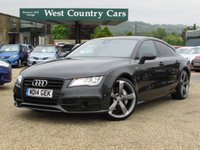 USED 2014 14 AUDI A7 3.0 TDI QUATTRO S LINE BLACK EDITION 5d AUTO 313 BHP 1 Private Owner From New With Full Audi Service History