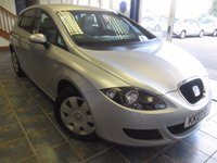 USED 2007 07 SEAT LEON 1.6 REFERENCE 5d 101 BHP