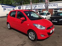 USED 2012 62 HYUNDAI I10 1.2 ACTIVE 5d 85 BHP 0% FINANCE AVAILABLE PLEASE CALL 01204 317705