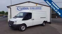 2013 FORD TRANSIT 155 T350 LWB MEDIUM ROOF VAN £6595.00